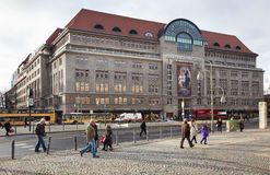 Λεωφόρος αγορών Kadewe στο Βερολίνο Στοκ φωτογραφία με δικαίωμα ελεύθερης χρήσης