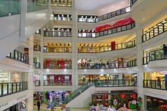 Λεωφόρος αγορών plaza πόλεων Kowloon Στοκ φωτογραφία με δικαίωμα ελεύθερης χρήσης