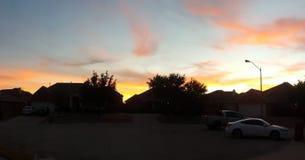 Λεωφόρος ηλιοβασιλέματος στοκ φωτογραφίες με δικαίωμα ελεύθερης χρήσης