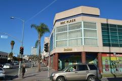 Λεωφόρος Λος Άντζελες δυτικό Blvd ABC Plaza Koreatown Στοκ Εικόνα