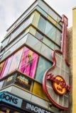 Λεωφόρος Λος Άντζελες Hollywood καφέδων σκληρής ροκ Στοκ φωτογραφία με δικαίωμα ελεύθερης χρήσης