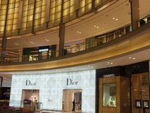 Λεωφόρος μόδας στη λεωφόρο του Ντουμπάι στο Ντουμπάι, Ε.Α.Ε. Στοκ Εικόνες