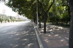 λεωφόρος Πεκίνο s στοκ φωτογραφία