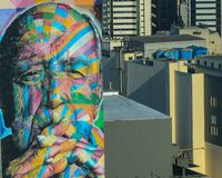 Λεωφόρος Σάο Πάολο Nemayer της Βραζιλίας Paulista στοκ φωτογραφίες με δικαίωμα ελεύθερης χρήσης