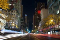 λεωφόρος Σικάγο Μίτσιγκ& στοκ φωτογραφία