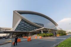Λεωφόρος της πρόσοψης χώρων της Ασίας είναι ένας εσωτερικός χώρος μέσα στη λεωφόρο SM της Ασίας σύνθετη σε Pasay, Μανίλα, Φιλιππί Στοκ Φωτογραφίες