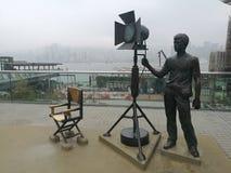 Λεωφόρος της ταινίας Scultpture αστεριών διευθυντής Chair στοκ εικόνες με δικαίωμα ελεύθερης χρήσης