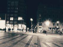 Λεωφόρος τη νύχτα Στοκ φωτογραφίες με δικαίωμα ελεύθερης χρήσης