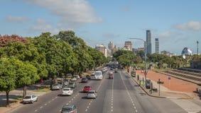Λεωφόρος του Μπουένος Άιρες στοκ φωτογραφία