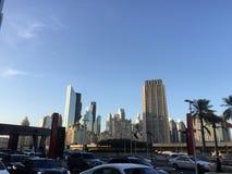 Λεωφόρος του Ντουμπάι στοκ φωτογραφία