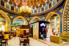 Λεωφόρος Battuta Ibn, Ντουμπάι, Ε.Α.Ε. Στοκ Φωτογραφίες