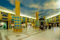 Λεωφόρος Battuta Ibn, Ντουμπάι, Ε.Α.Ε. Στοκ Εικόνες