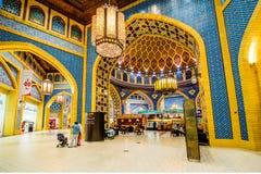 Λεωφόρος Battuta Ibn, Ντουμπάι, Ε.Α.Ε. Στοκ Εικόνα