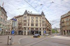 Λεωφόρος Globus, καρδιά της πόλης της Ζυρίχης, Ελβετία Στοκ φωτογραφία με δικαίωμα ελεύθερης χρήσης