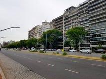 λεωφόρος livertador στο Μπουένος Άιρες, Αργεντινή Εθνική οδός Στοκ Εικόνες