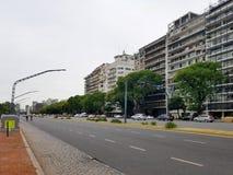 λεωφόρος livertador στο Μπουένος Άιρες, Αργεντινή Εθνική οδός Στοκ φωτογραφίες με δικαίωμα ελεύθερης χρήσης