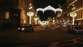 Λεωφόρος Nevsky τη νύχτα φιλμ μικρού μήκους