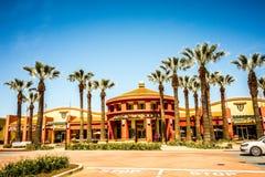 Λεωφόρος plaza αγορών στο SAN Jose Καλιφόρνια Στοκ Εικόνα