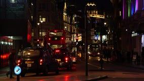 Λεωφόρος Shaftsbury στο Λονδίνο απόθεμα βίντεο
