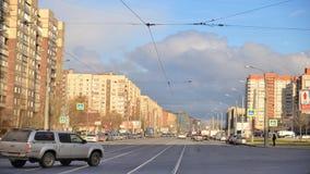 Λεωφόρος Shlisselburgsky, Αγία Πετρούπολη απόθεμα βίντεο