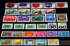 Λεύκωμα γραμματοσήμων Ceskoslovensko Στοκ εικόνες με δικαίωμα ελεύθερης χρήσης