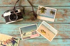 Λεύκωμα θερινών φωτογραφιών στοκ εικόνες
