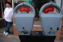 ληγμένος μετρητής ατόμων Στοκ Εικόνες