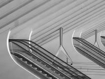 Λιέγη-Guillemins σιδηροδρομικός σταθμός Βέλγιο Στοκ Φωτογραφίες