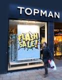 Λιανοπωλητής Topman μόδας στοκ εικόνα