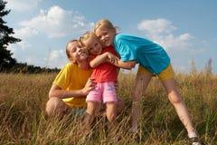 λιβάδι παιδιών Στοκ εικόνες με δικαίωμα ελεύθερης χρήσης