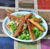Λιβανέζικη σαλάτα στοκ φωτογραφίες