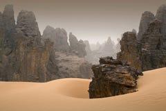 Λιβυκή έρημος Στοκ φωτογραφίες με δικαίωμα ελεύθερης χρήσης