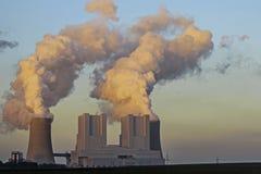 Λιγνίτης-βαλμένο φωτιά BoA σταθμών παραγωγής ηλεκτρικού ρεύματος 2&3 Στοκ εικόνες με δικαίωμα ελεύθερης χρήσης