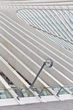 ΛΙΕΓΗ, ΒΕΛΓΙΟ - το Δεκέμβριο του 2014: Αφηρημένη άποψη σχετικά με τη στέγη με το s Στοκ Φωτογραφίες