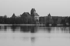 Λιθουανία. Νησί Castle του Τρακάι Στοκ φωτογραφίες με δικαίωμα ελεύθερης χρήσης