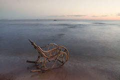 Λικνίζοντας καρέκλα Στοκ φωτογραφία με δικαίωμα ελεύθερης χρήσης