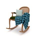 Λικνίζοντας καρέκλα Στοκ Εικόνα