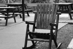 Λικνίζοντας καρέκλα Στοκ εικόνες με δικαίωμα ελεύθερης χρήσης