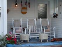 Λικνίζοντας καρέκλες στοκ φωτογραφίες με δικαίωμα ελεύθερης χρήσης