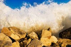 λικνίζοντας κύματα Στοκ Φωτογραφίες