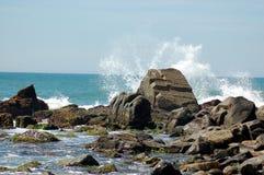 Λικνίζοντας κύματα Στοκ εικόνα με δικαίωμα ελεύθερης χρήσης