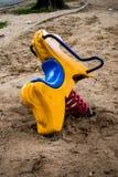 Λικνίζοντας παιχνίδια αλόγων Στοκ Φωτογραφίες