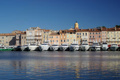 λιμάνι Άγιος tropez Στοκ φωτογραφία με δικαίωμα ελεύθερης χρήσης
