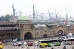 Λιμάνι Αμβούργο Στοκ φωτογραφίες με δικαίωμα ελεύθερης χρήσης