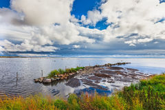 Λιμάνι αλιείας GräsgÃ¥rds, Oland, Σουηδία στοκ εικόνες