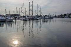 Λιμάνι βαρκών, λιμένας Aransas Τέξας Στοκ φωτογραφίες με δικαίωμα ελεύθερης χρήσης