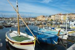 Λιμάνι βαρκών Λα Ciotat Στοκ Εικόνες