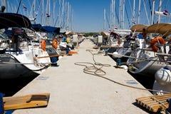 λιμάνι βαρκών στοκ φωτογραφία