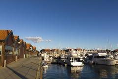 Λιμάνι βαρκών Hillarys Στοκ Εικόνες