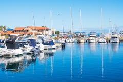 Λιμάνι βαρκών Hillarys Στοκ εικόνα με δικαίωμα ελεύθερης χρήσης